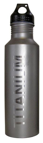 Vargo Titan Wasserflasche mit Kunststoff Deckel, 650 ml