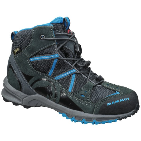 graphite/atlantic - Mammut Nova Mid GTX Kids