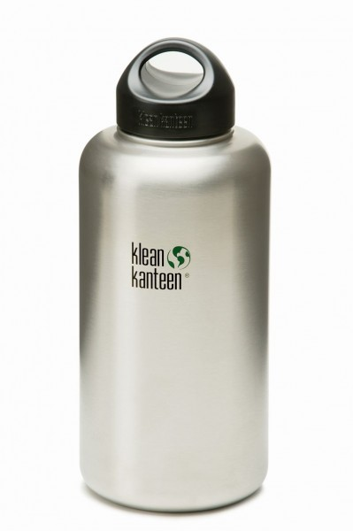 Klean Kanteen Wide Stainless Loop Cap 1900ml brushed stainless