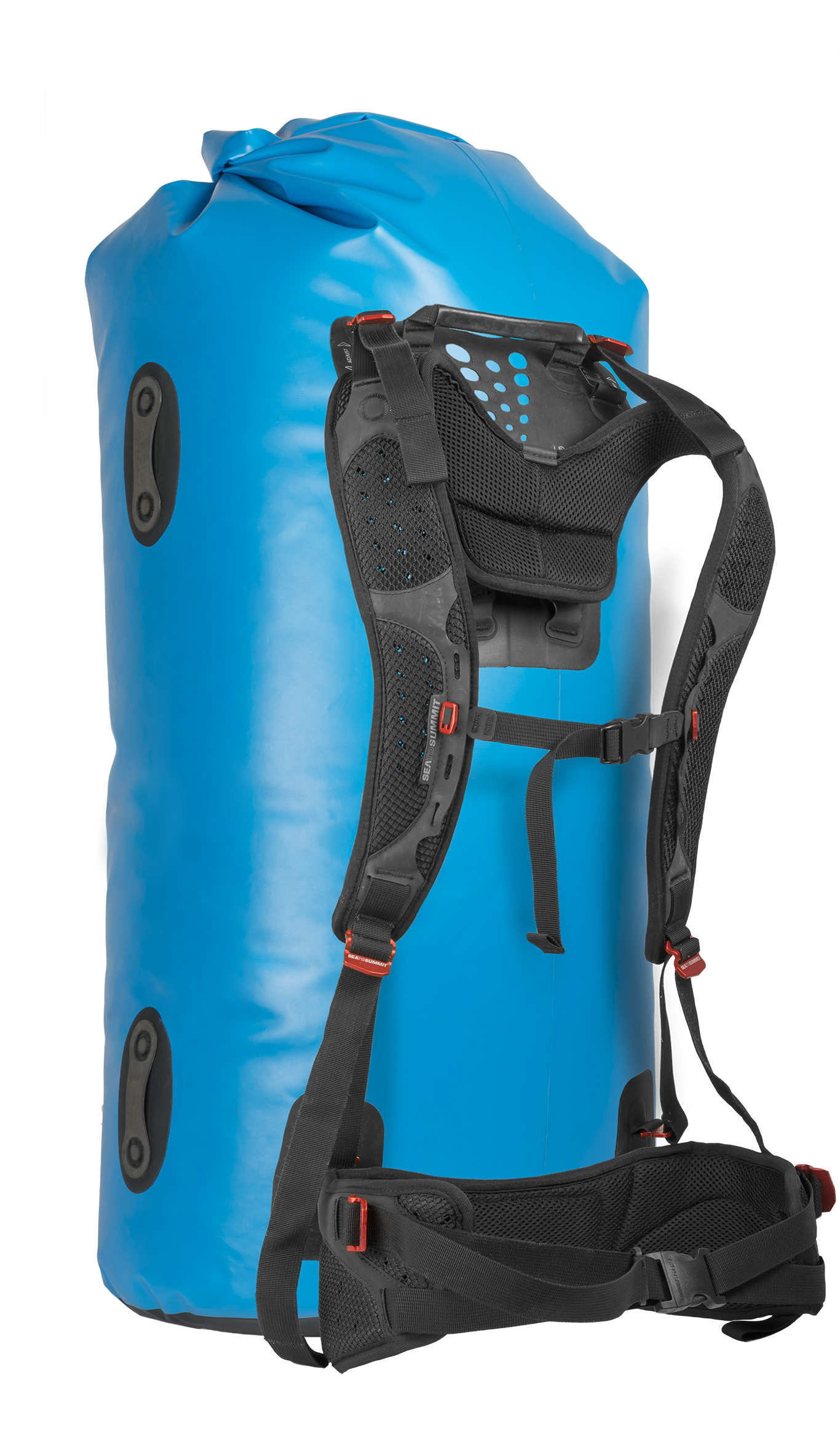Sea to Summit Hydraulic Dry Bag 35 L mit abnehmbarem Rückenpanel blue