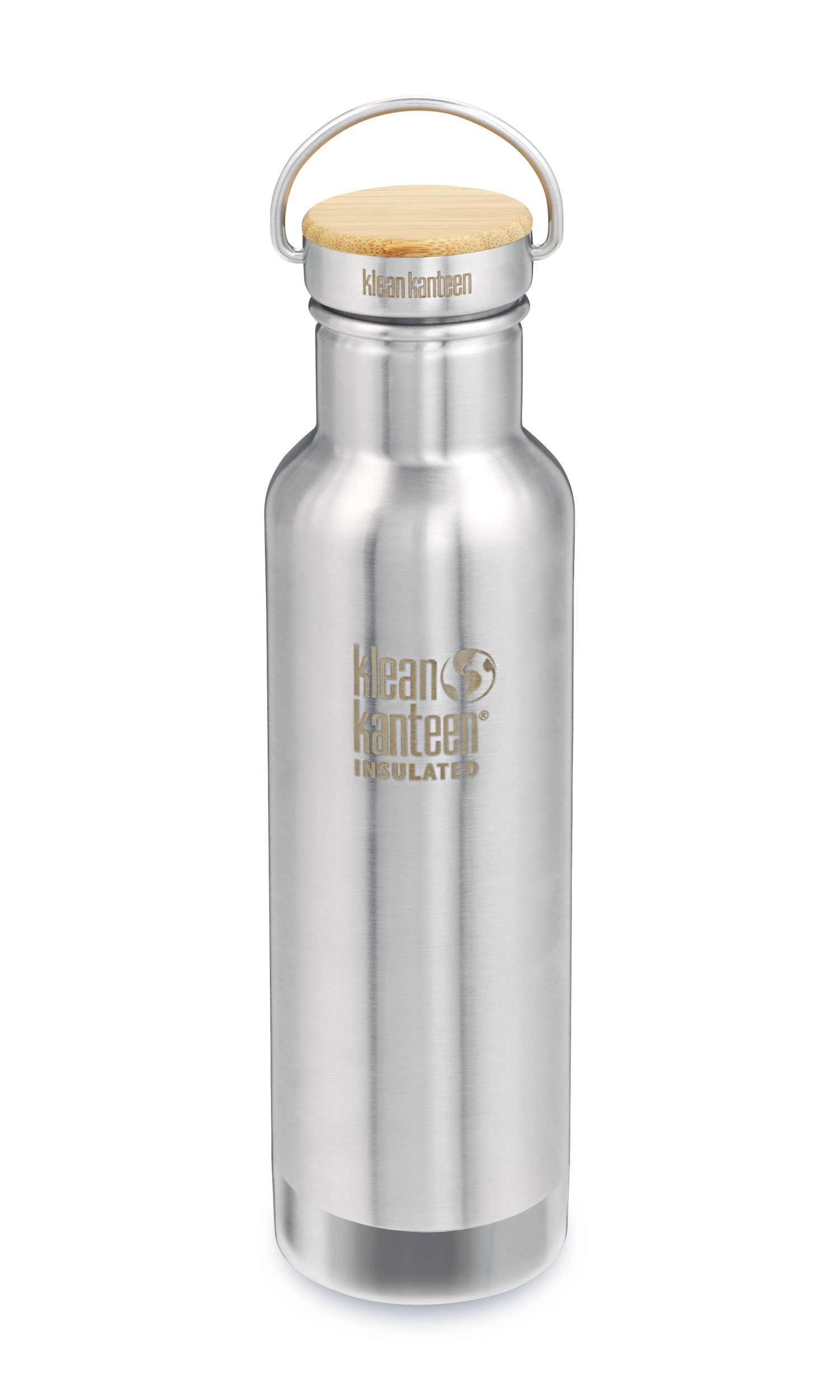 Klean Kanteen Reflect Vacuum Insulated mit Stainless Unibody Bamboo Cap 592 ml b