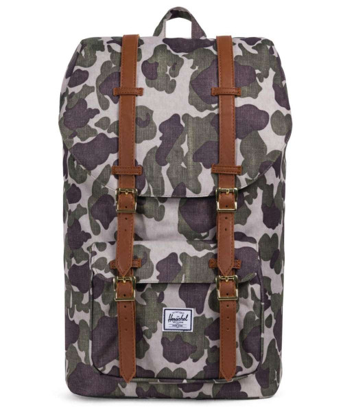 frog camo/tan synthetic leather