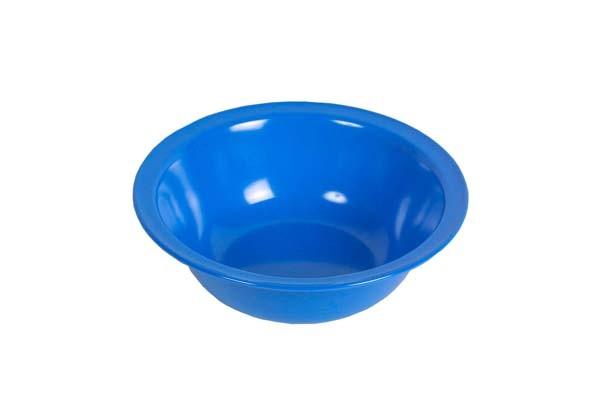 blau - Waca Melamin Schüssel groß, Durchmesser 23,5 cm