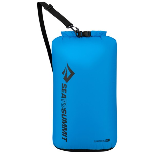 blue - Sea to Summit Lightweight Sling Dry Bag 20 L