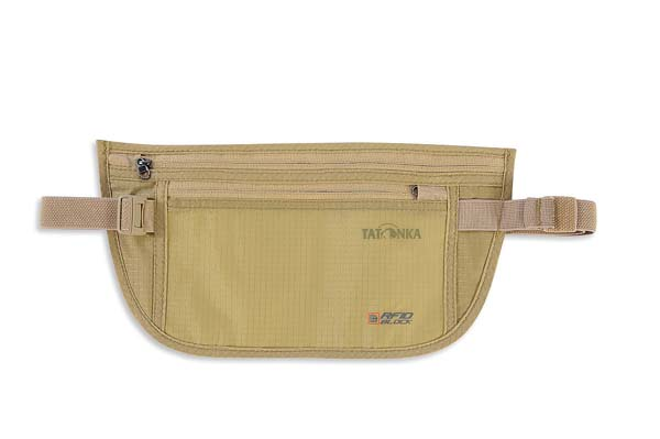 Tatonka Skin Moneybelt Int. RFID B natural