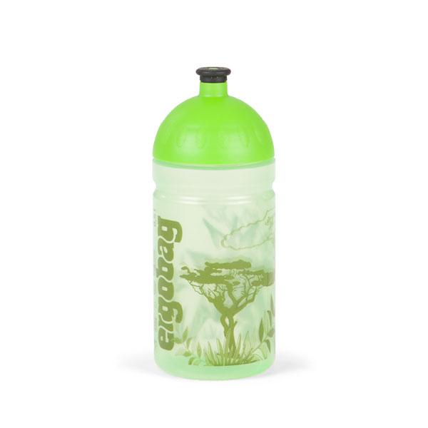 ergobag Trinkflasche 0,5 L dinosauribär grüner dschungel