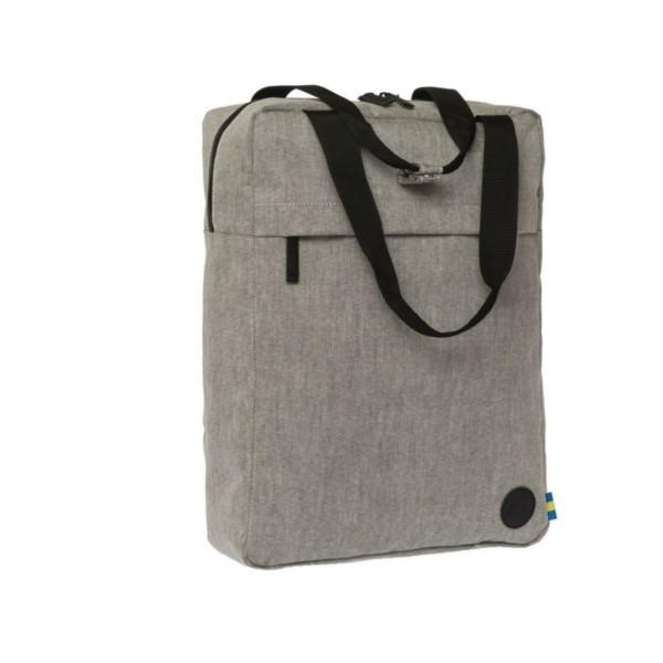 melange black - Enter Tote Backpack
