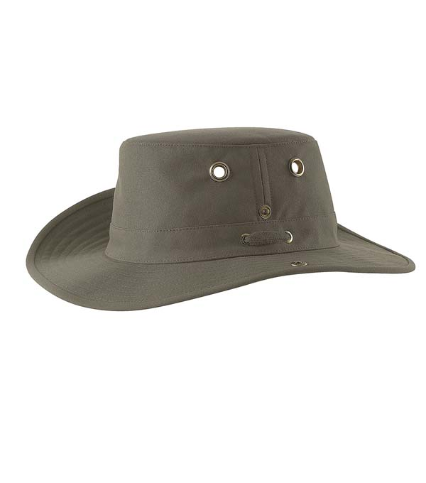 Tilley T3 Snap-up Hat olive 6 7/8 (55 cm)
