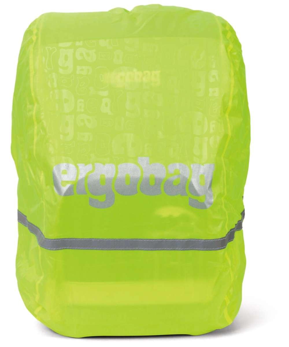 ergobag Regencape reflektierend und fluoreszierend gelb fluoreszierend