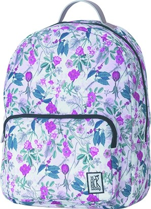 pink botanical allover - The Pack Society Backpack Cool Prints