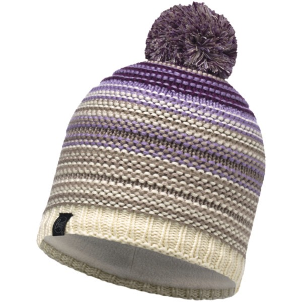 violet - Buff Lifestyle Knitted und Polar Fleece Hat Neper