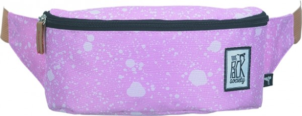 coral spatters allover - The Pack Society Bum Bag Cool Prints