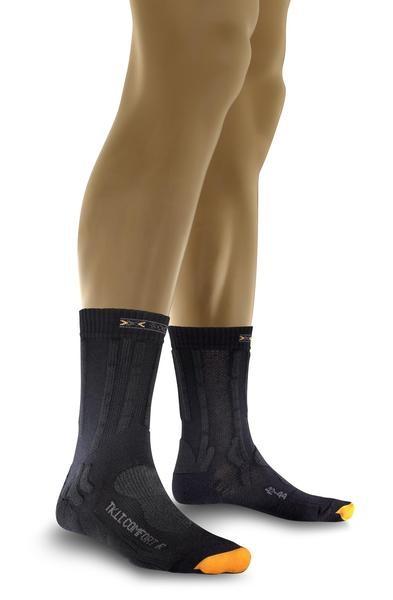 charcoal/antracite - X-Socks Trekking Light Comfort