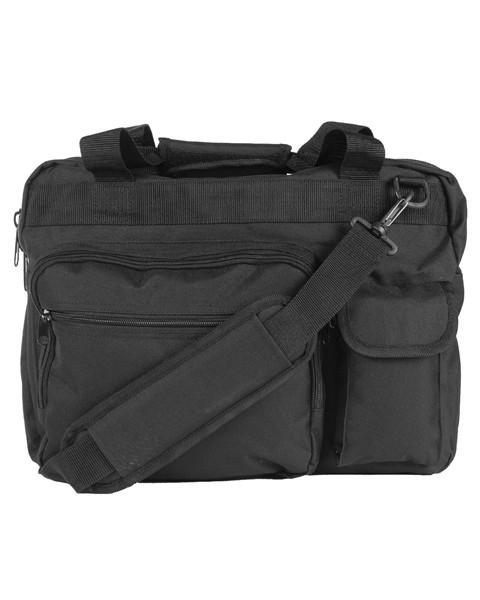 schwarz - Mil-Tec Aktentasche mit Laptop Tasche