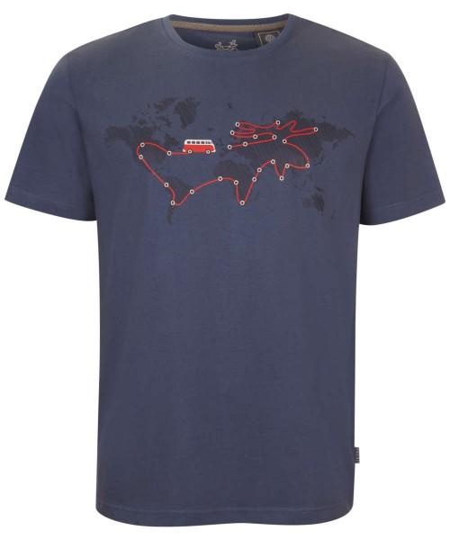 ashblue - Elkline reisebus Herren VW T-shirt