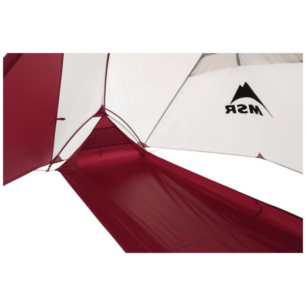 MSR Fast and Light Zeltkörper Hubba NX red/white