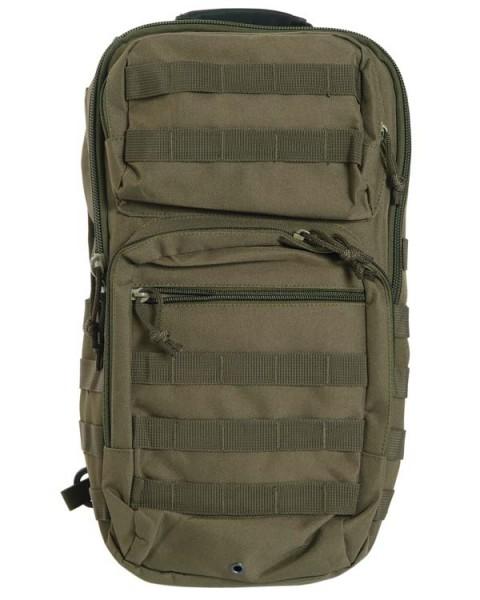 oliv - Mil-Tec One Strap Assault Pack Large