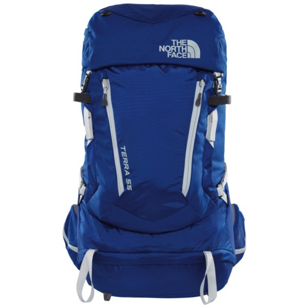 sodalite blue/high rise grey - The North Face W Terra 55