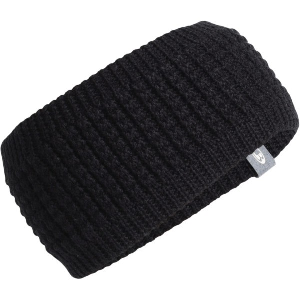 black/gritstone heather - Icebreaker Affinity Headband