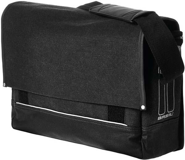 schwarz - Basil Urban-Fold Messenger Bag