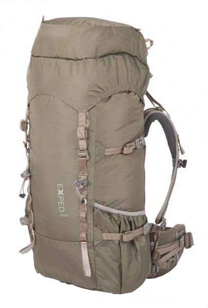 olive grey - Exped Expedition 65