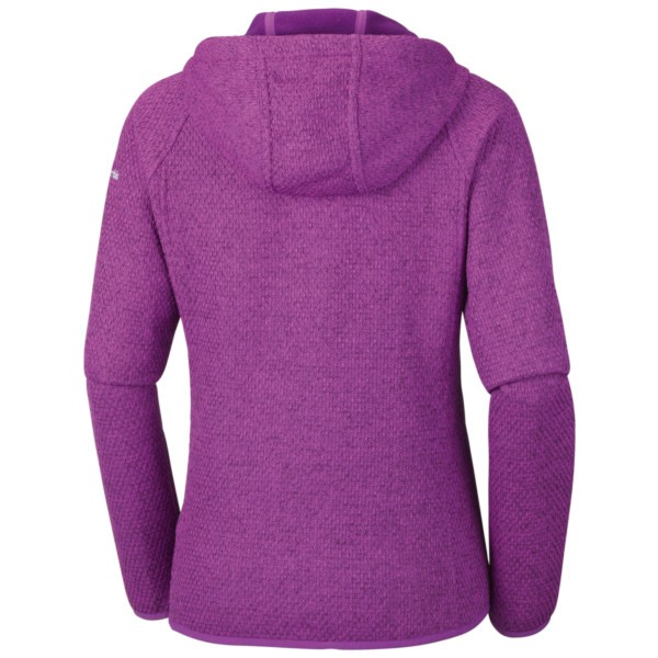Rückseite bright lavender - Columbia Pacific Point Full Zip Hoodie