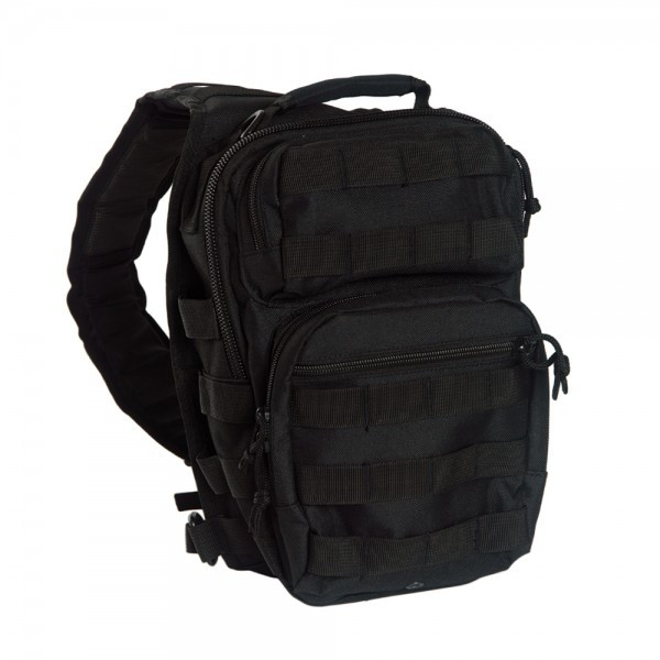 schwarz - Mil-Tec One Strap Assault Pack Small