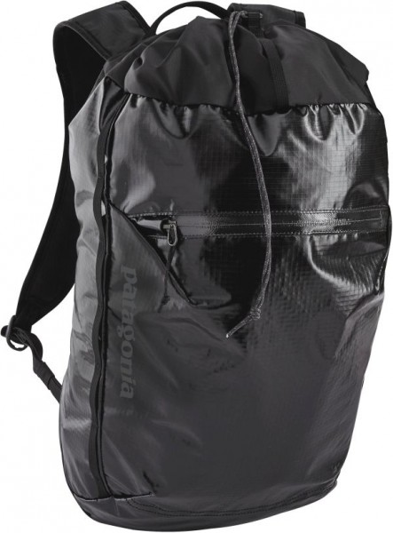 black - Patagonia Lightweight Black Hole Cinch Pack 20L
