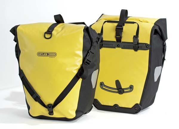 gelb-schwarz - Ortlieb Back-Roller Classic (Paar)