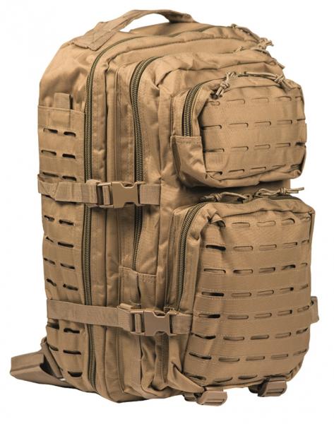coyote - Mil-Tec US Assault Pack Large Laser Cut
