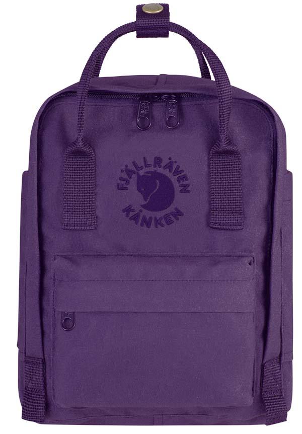 Fjällräven Re-Kanken Mini deep violet