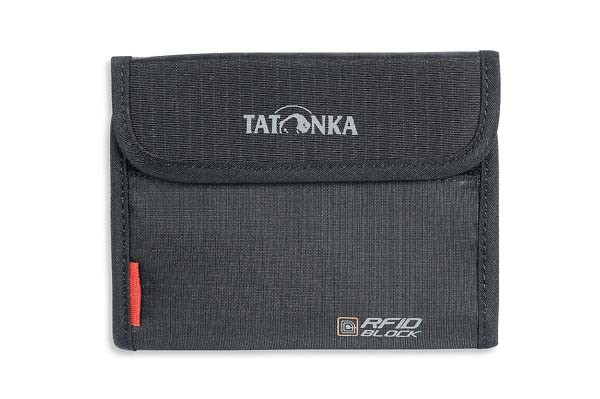black - Tatonka Euro Wallet RFID B