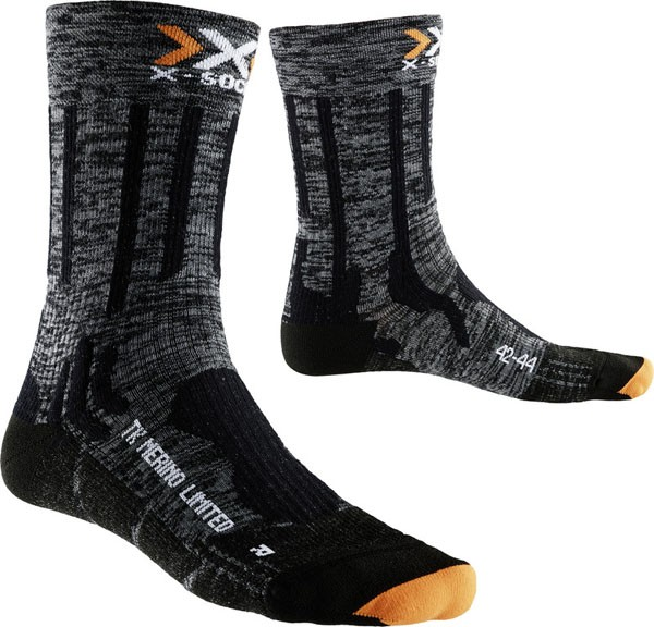 grey/black - X-Socks Trekking Merino Limited