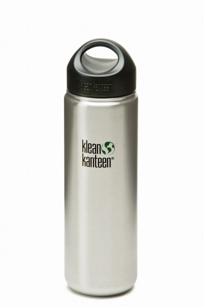 - Klean Kanteen Wide mit Stainless Loop Cap 800 ml brushed stainless