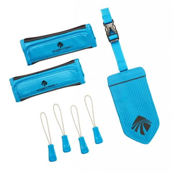 brilliant blue - Eagle Creek Reflective Luggage ID Set