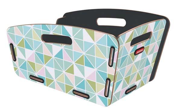 KLICKfix Radkiste 2 für Gepäckträger, GTA triangle