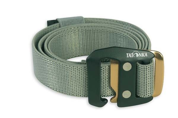 warm grey - Tatonka Stretch Belt 25 mm