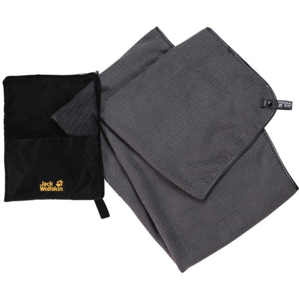 Jack Wolfskin Waffle Towel XL pebble grey