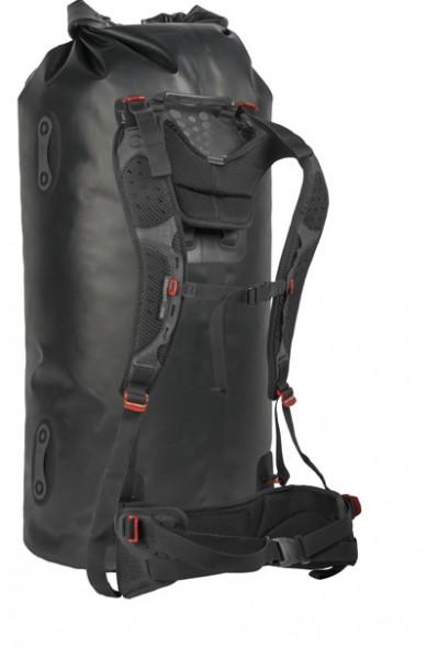 black - Sea to Summit Hydraulic Dry Bag 65 L mit abnehmbarem Rückenpanel