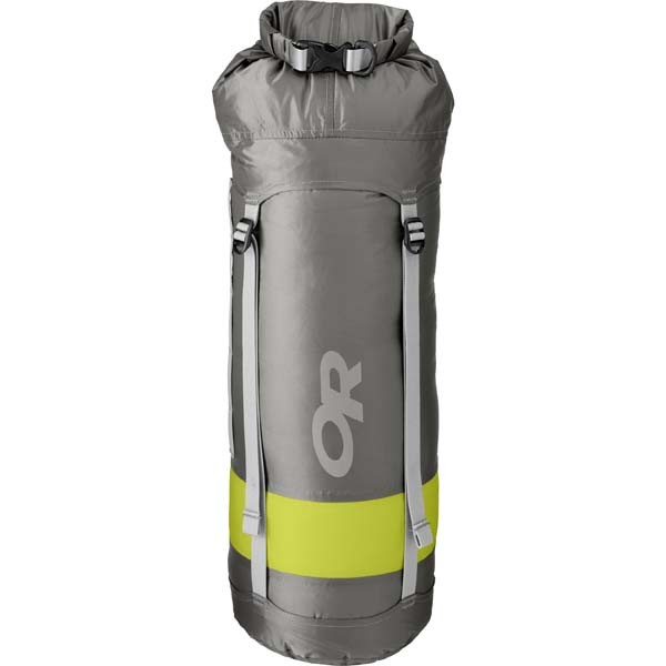 - Outdoor Research Airpurge Dry Compressions Sack 15L, pewter