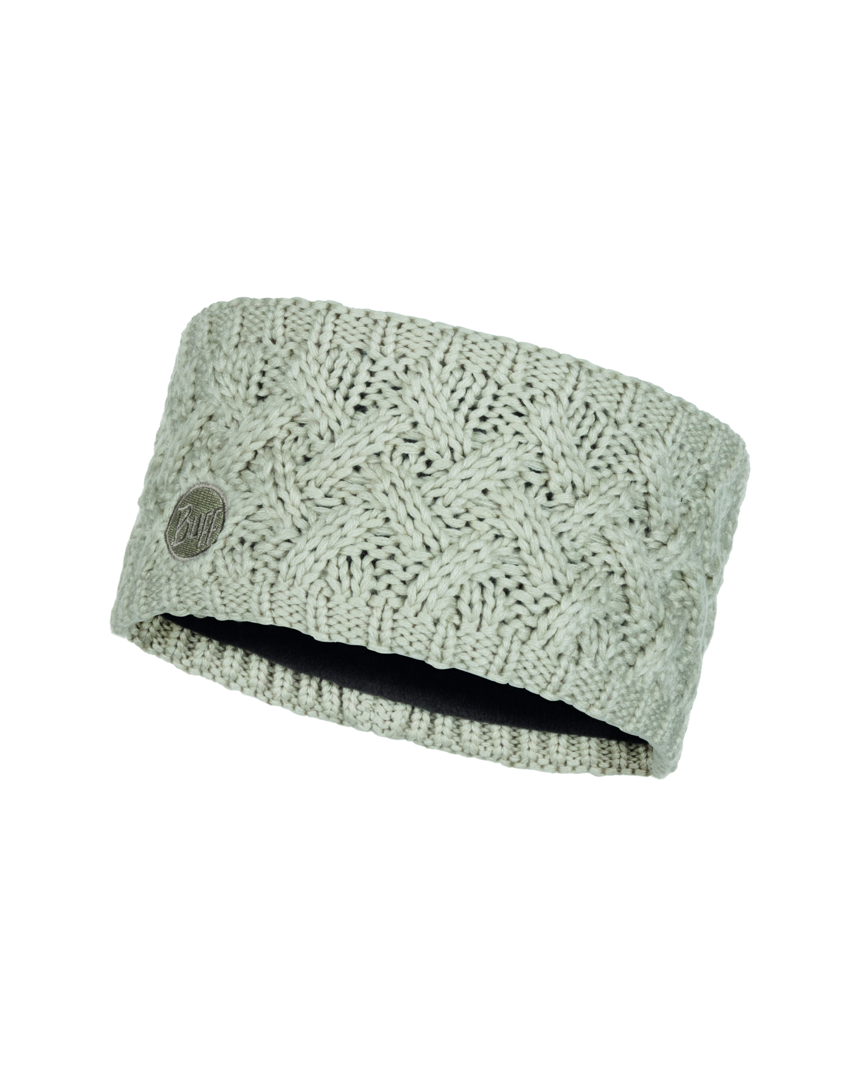Buff Knitted und Polar Fleece Headband Savva cream