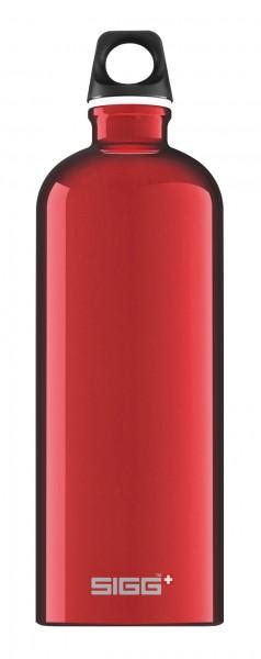 red - Sigg Traveller Flasche 1,0 l