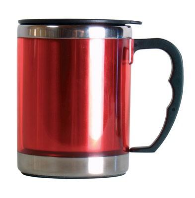feuerrot - Relags Edelstahl Thermobecher Mug 0,42 L