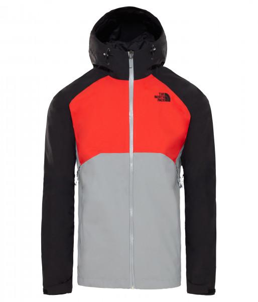 mid grey/fiery red/tnf black
