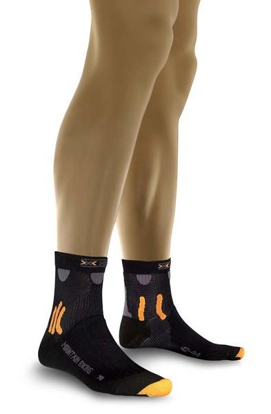 black - X-Socks Mountain Biking Short