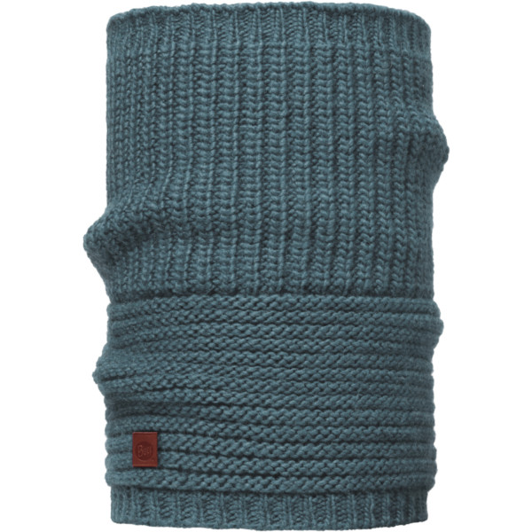 Buff Lifestyle Knitted Collar Gribling steel blue