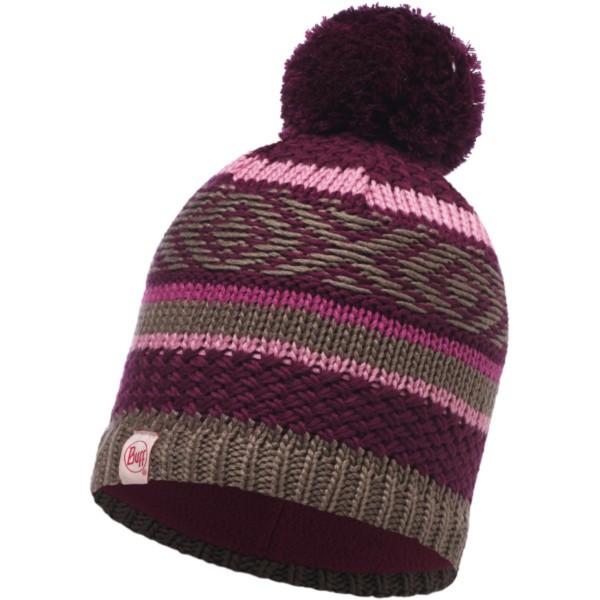 amaranth purple - Buff Child Knitted und Polar Hat Tipsy