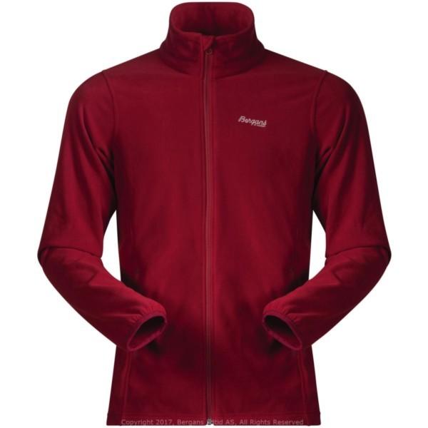 burgundy - Bergans Park City Jacket