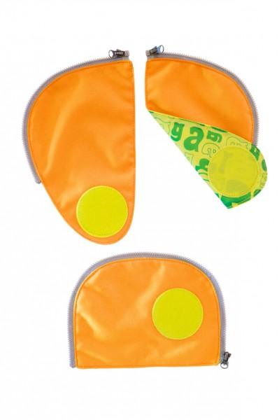 orange - ergobag Sicherheitsset (3-tlg.) für ergobag Pack