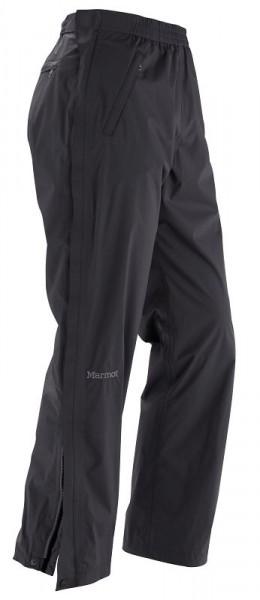 black - Marmot Mens PreCip Full Zip Pant